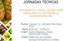 Conferencias y Jornadas Tecnicas Agroa 2015